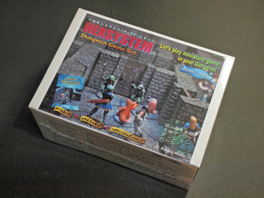ヘキサシステムミニチュアゲーム パッケージ